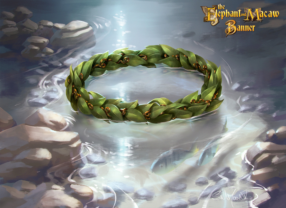 <p>Yara's laurel wreath by SulaMoon</p>