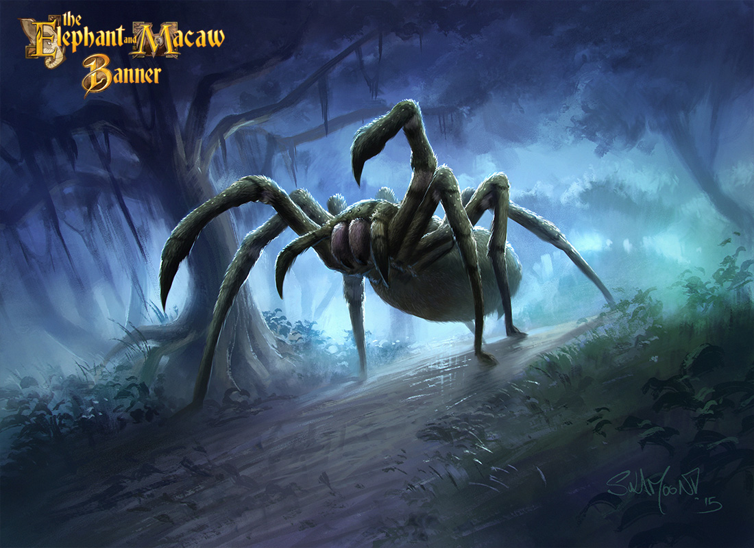 <p>Giant Wandering Spiders by Sulamoon</p>